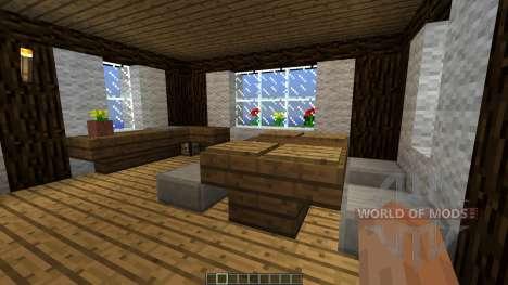 Medieval House map для Minecraft
