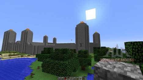 Unfinished City для Minecraft