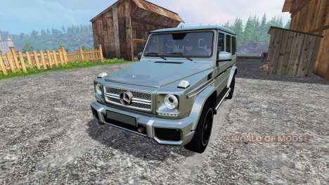 Mercedes-Benz G65 AMG для Farming Simulator 2015