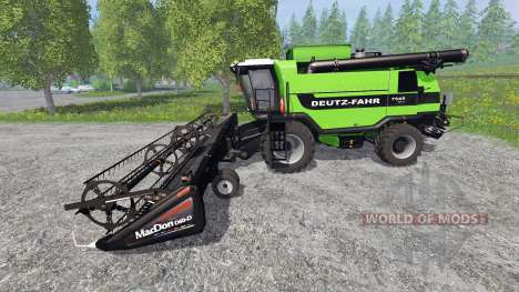 Deutz-Fahr 7545 RTS v1.3 для Farming Simulator 2015