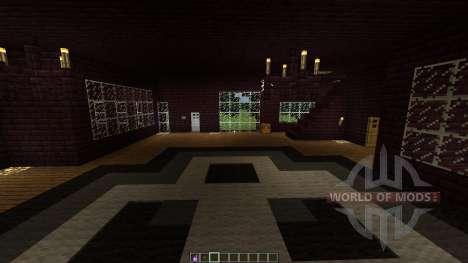 Infernal house MEGA Planet для Minecraft