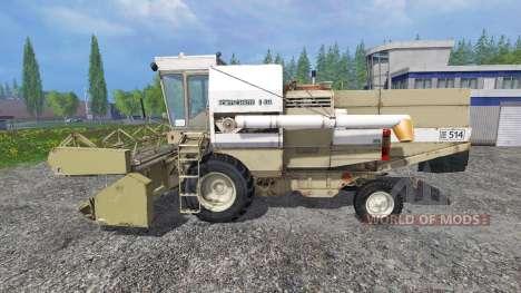 Fortschritt E 514 для Farming Simulator 2015