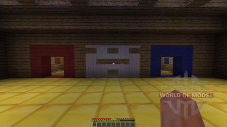 PLAYABLE SOCCER STADIUM для Minecraft