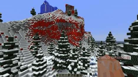 Frozen Elsas Ice Castle для Minecraft
