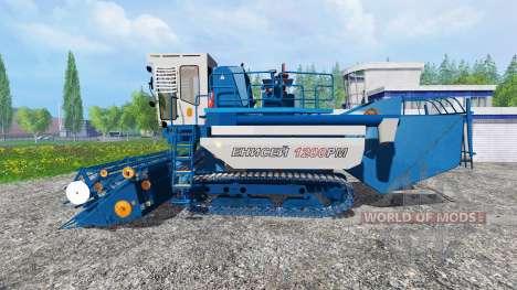 Енисей-1200 РМ для Farming Simulator 2015