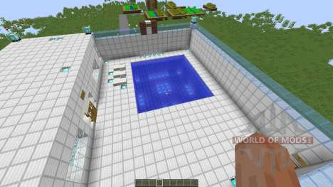 Swimming Pool для Minecraft