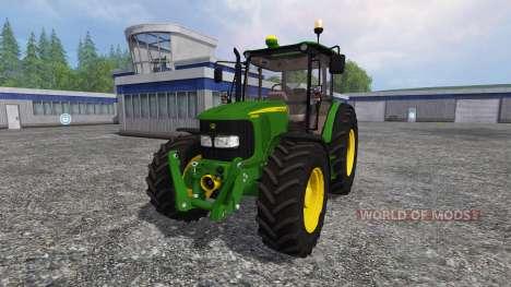 John Deere 5080M для Farming Simulator 2015