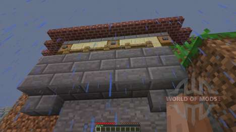 Jungle Mountain House для Minecraft