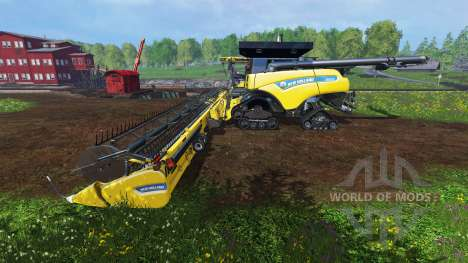 New Holland CR10.90 [crawler] v3.0 для Farming Simulator 2015