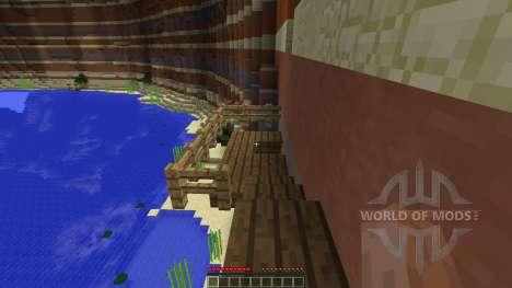 Minecraft Point Runner Map для Minecraft