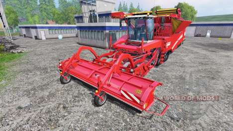 Grimme Tectron 415 [wide] для Farming Simulator 2015