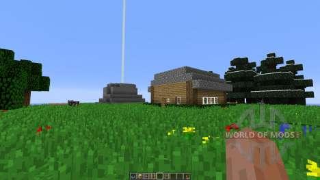 Floating Island Creative Map для Minecraft