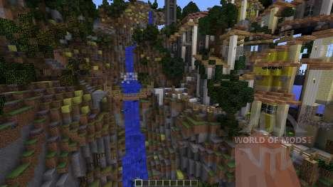 Zah Saint Lucca для Minecraft