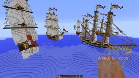 British Fleet для Minecraft