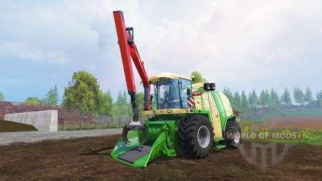 Krone Big X 1100 [crusher] v2.0 для Farming Simulator 2015