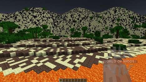 Fire Desert - Custom Terrain для Minecraft