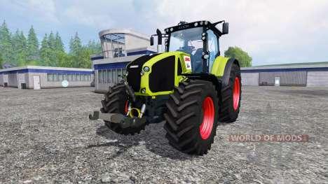 CLAAS Axion 950 v1.5 для Farming Simulator 2015