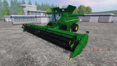John Deere S680 для Farming Simulator 2015