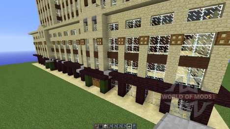 FAMOUS U.S. BUILDINGS для Minecraft