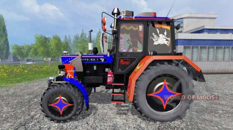 МТЗ-82.1 тюнинг для Farming Simulator 2015