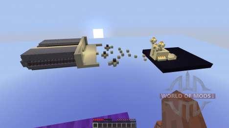 TNT Wars Minigame для Minecraft