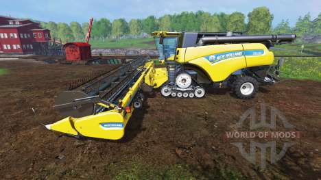 New Holland CR10.90 v1.1 для Farming Simulator 2015