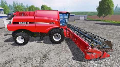 Case IH Axial Flow 7130 [multifruit] для Farming Simulator 2015