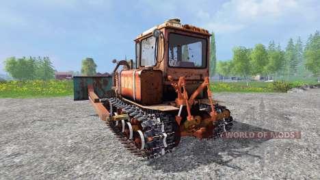 ДТ-75Б для Farming Simulator 2015