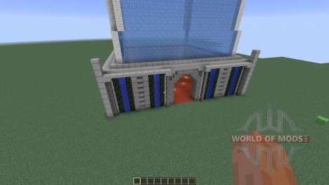 Ice Tower Skyscraper для Minecraft