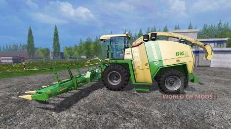 Krone Big X 1100 [rent] для Farming Simulator 2015