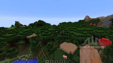 CandyLand Adventure Parkour Map для Minecraft