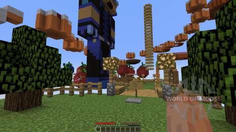 Minecraft Food Parkour 2 OFFICIAL для Minecraft