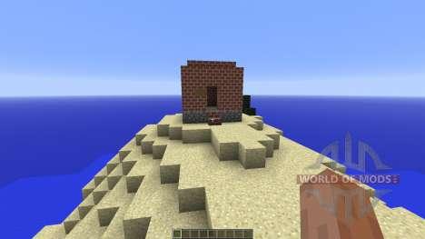Survival Island STEVE STYLE для Minecraft