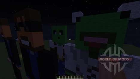 Statues для Minecraft