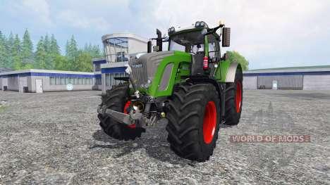 Fendt 936 Vario SCR с противовесом для Farming Simulator 2015