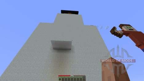 Shot Snowman Parkour для Minecraft