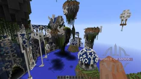 Berinstar Elven City для Minecraft