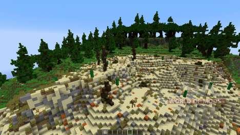 Survival Games Hunger Games The Movie Remake для Minecraft