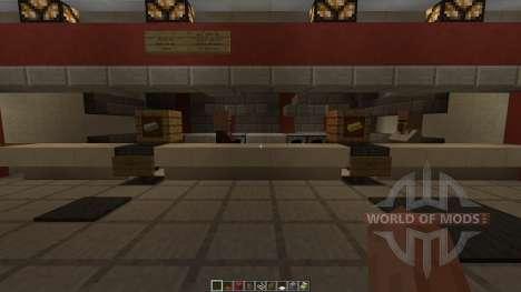 KFC Redstone powered для Minecraft