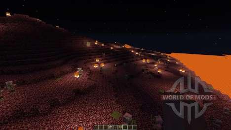 Nether Islands Survival для Minecraft