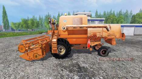 Bizon Z056 [orange] для Farming Simulator 2015