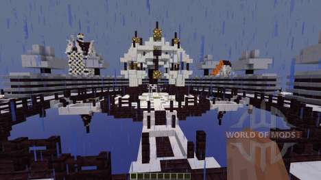 Quarzite Islands Survivalgames для Minecraft