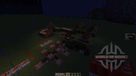 Monsters vs. Humans для Minecraft