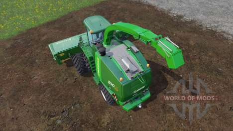 Krone Big X 1100 [twin fronts wheels] для Farming Simulator 2015