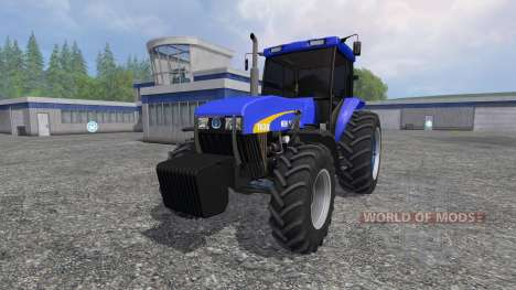 New Holland 7630 для Farming Simulator 2015
