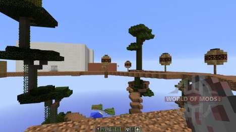 Tree City для Minecraft