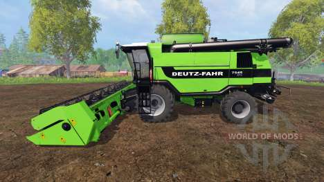 Deutz-Fahr 7545 RTS v1.2.4 для Farming Simulator 2015
