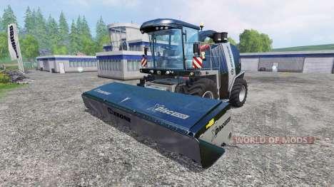 Krone Big X 1100 [black edition] v1.1 для Farming Simulator 2015