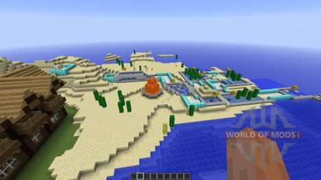 MINEGOLF Crazy Golf Putting Challenge для Minecraft
