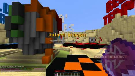 ColorCube A Painting Minigame by Musclecraft для Minecraft